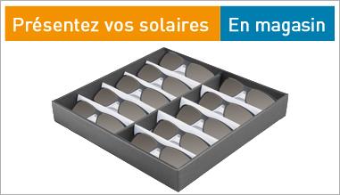 Présentez vos solaires en magasin !