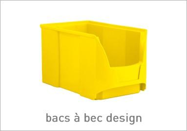 bacs à bec design