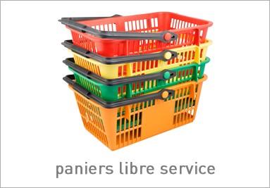 Paniers libre service