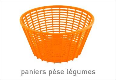 Paniers pèse légumes orange